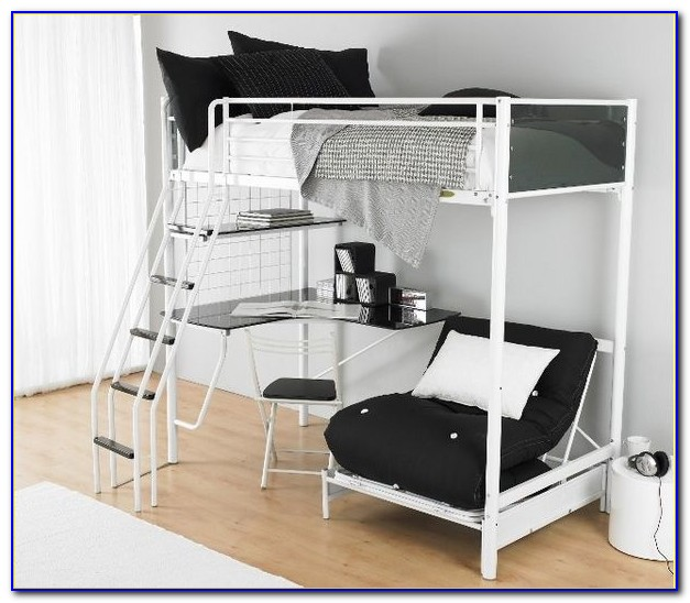 Childrens Bunk Beds With Desk Underneath