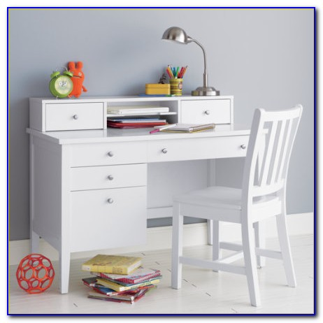 Children's Desk Hutch Set
