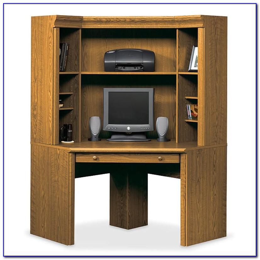 Corner Computer Desk And Hutch