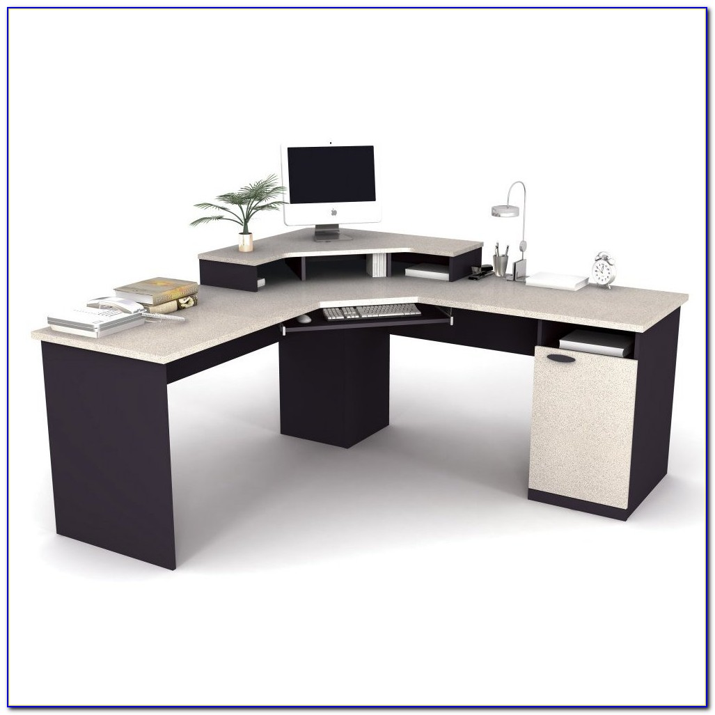 Corner Computer Workstation Desk