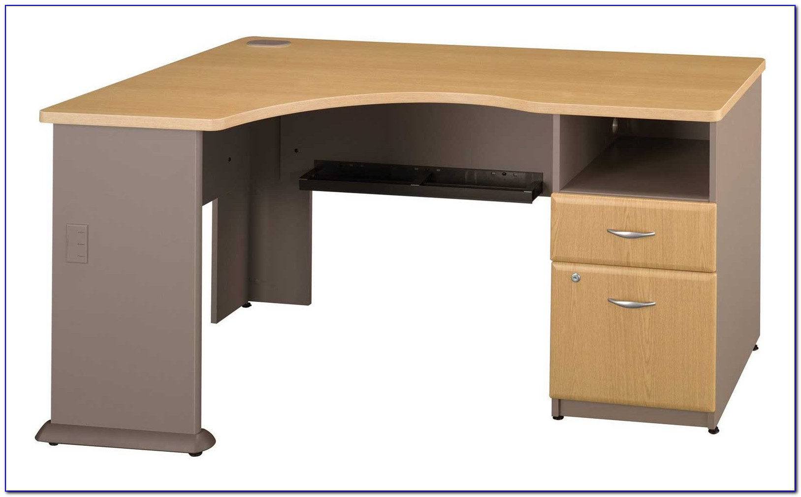 Corner Desk For Computer And Printer