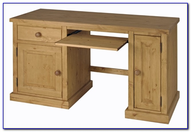 Corona Solid Pine Computer Desk