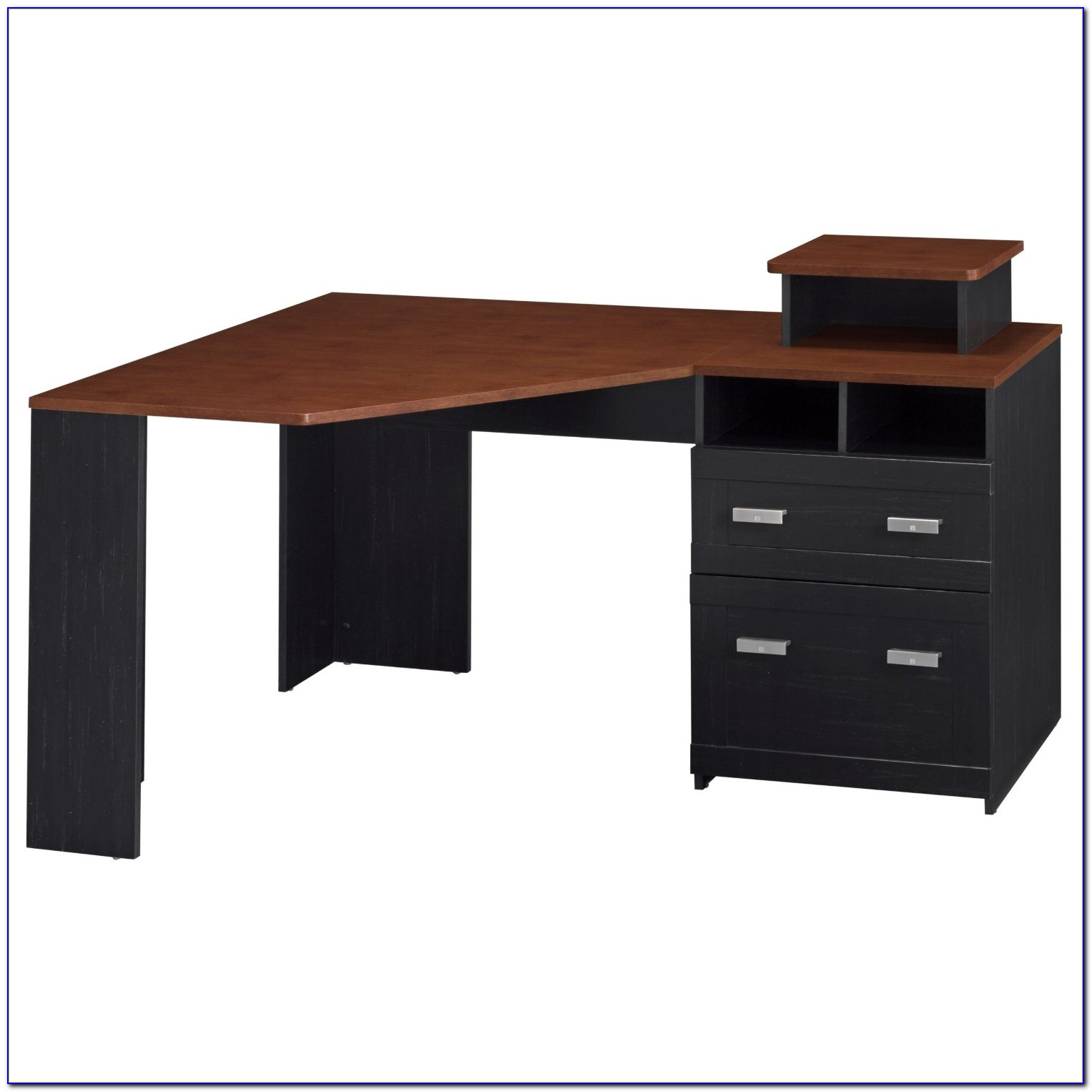 Deluxe Corner Computer Workstation Desk