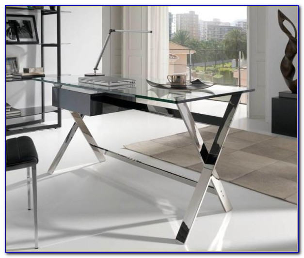 Designer Glass Home Office Desks