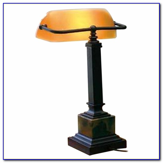Desk Lamp Glass Shade