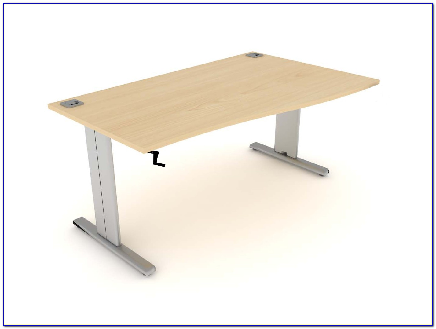 Desk With Adjustable Height Legs