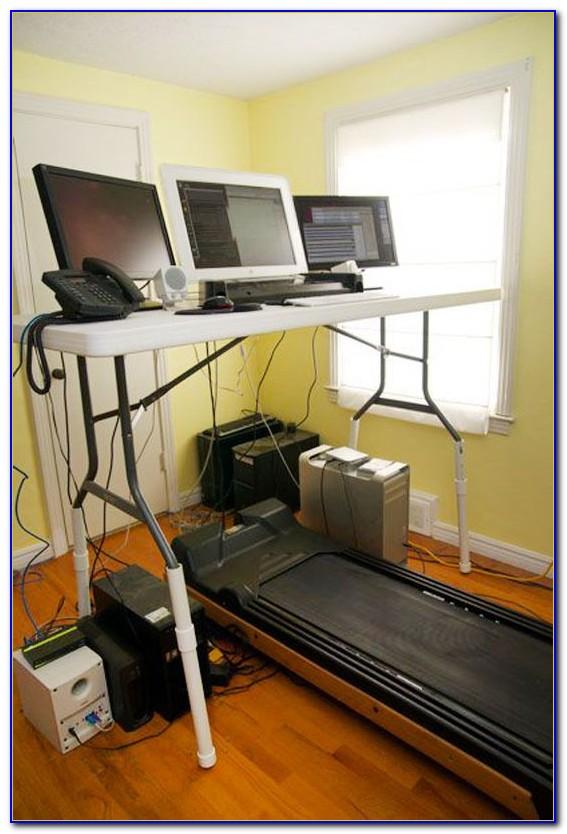 Do It Yourself Treadmill Desk