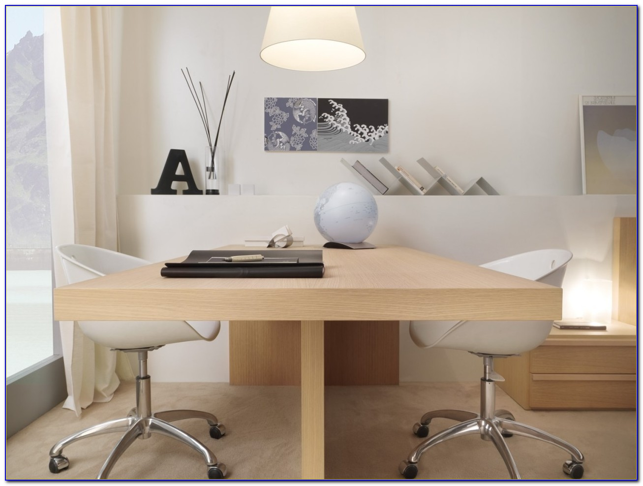 Double Sided Desks For Home Office