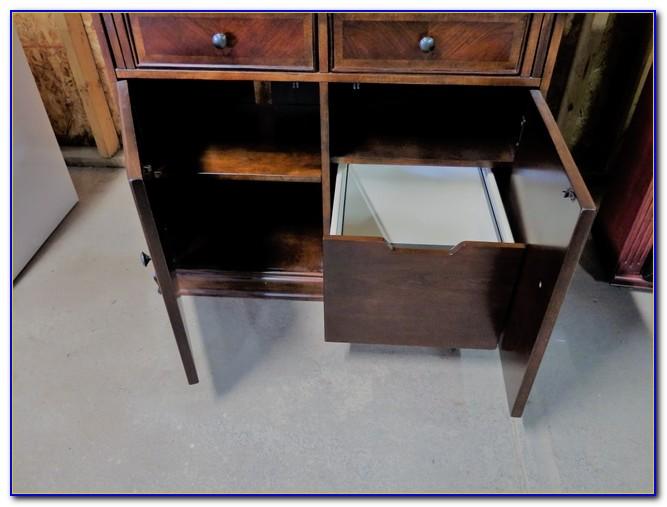 Drop Front Computer Desk