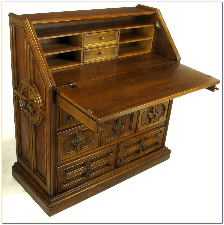 Drop Front Secretary Writing Desk