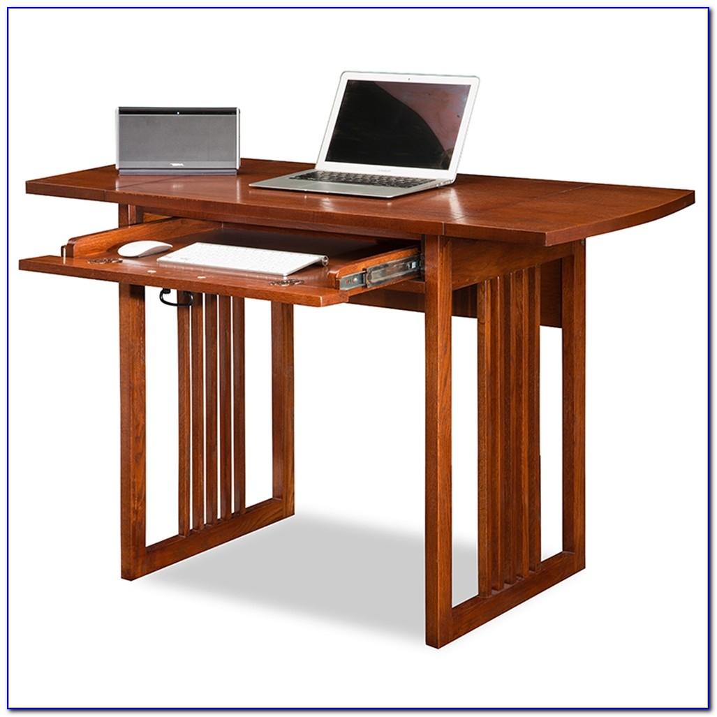 Drop Leaf Computer Desk