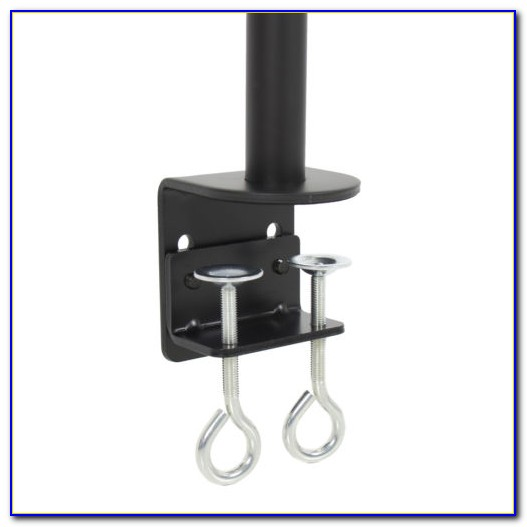 Dual Monitor Desk Clamp