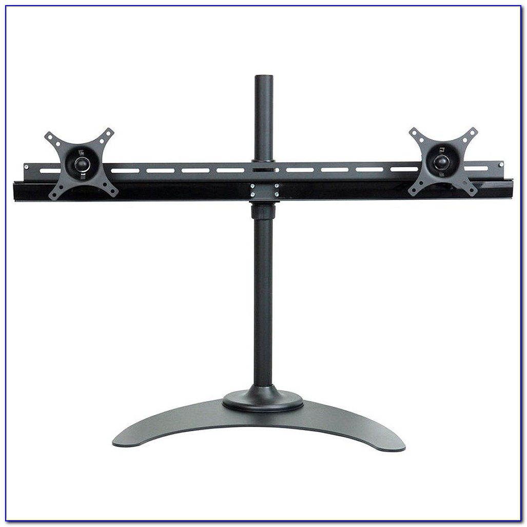 Duramex Dual Lcd Monitor Desk Mount Stand