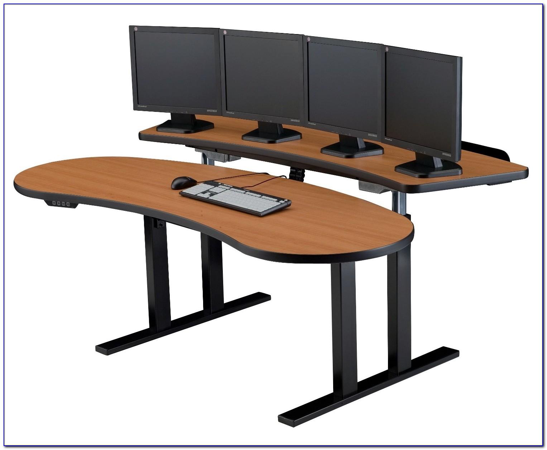 Ergonomic Height Adjustable Laptop Desk