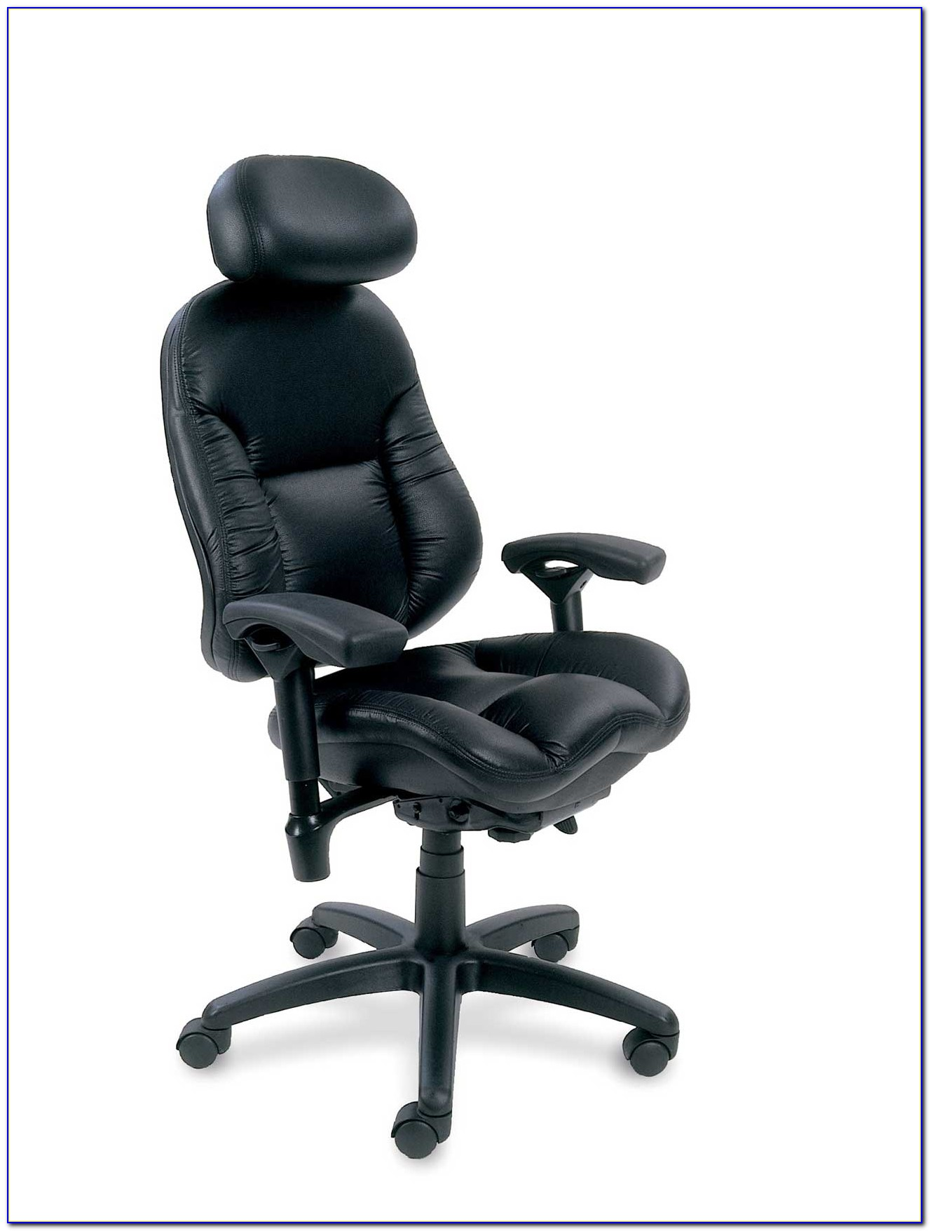 Ergonomic Mesh Office Desk Chair With Adjustable Arms