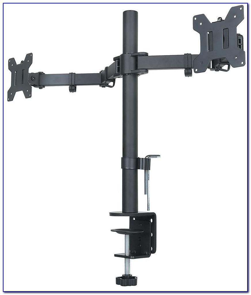 Ergotron Dual Monitor Arm Desk Clamp