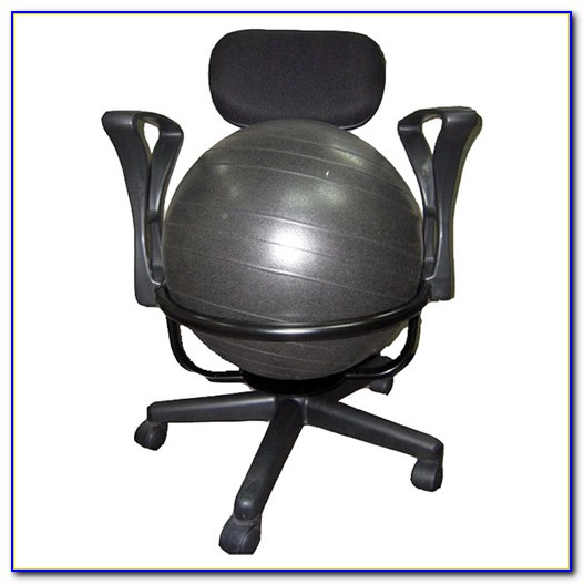 Exercise Ball Desk Chair Exercises