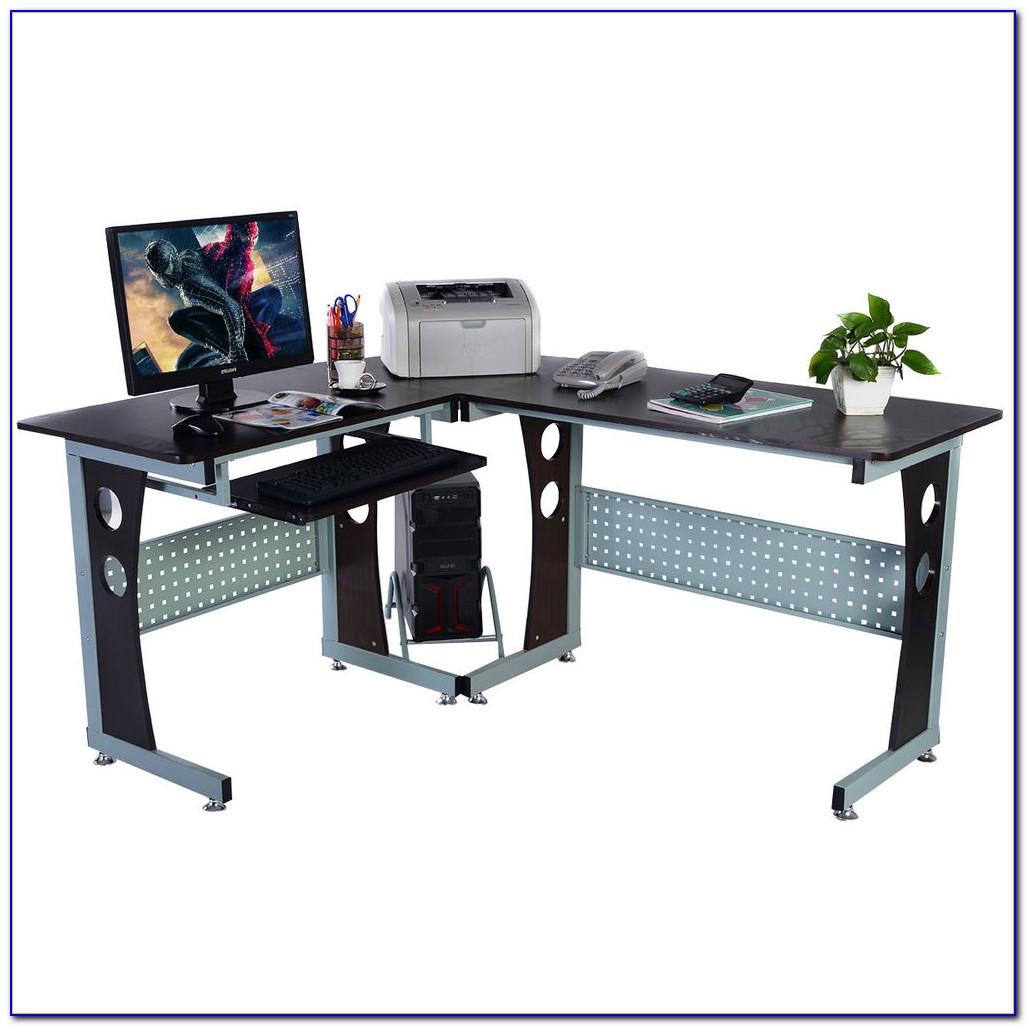 Felix Home Office Corner Computer Desk In Beech
