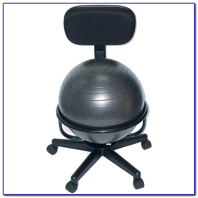 Fitness Ball Desk Chair