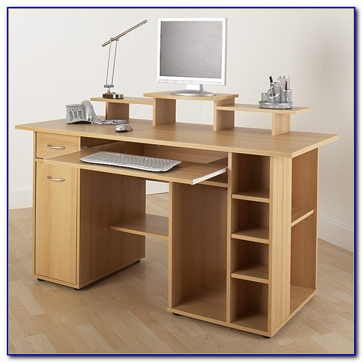 Flat Pack Computer Desk