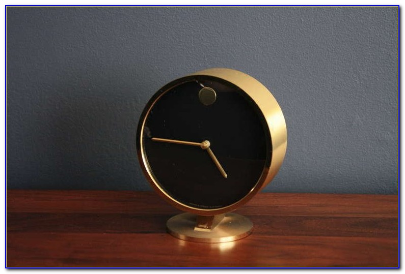 George Nelson Tripod Desk Clock