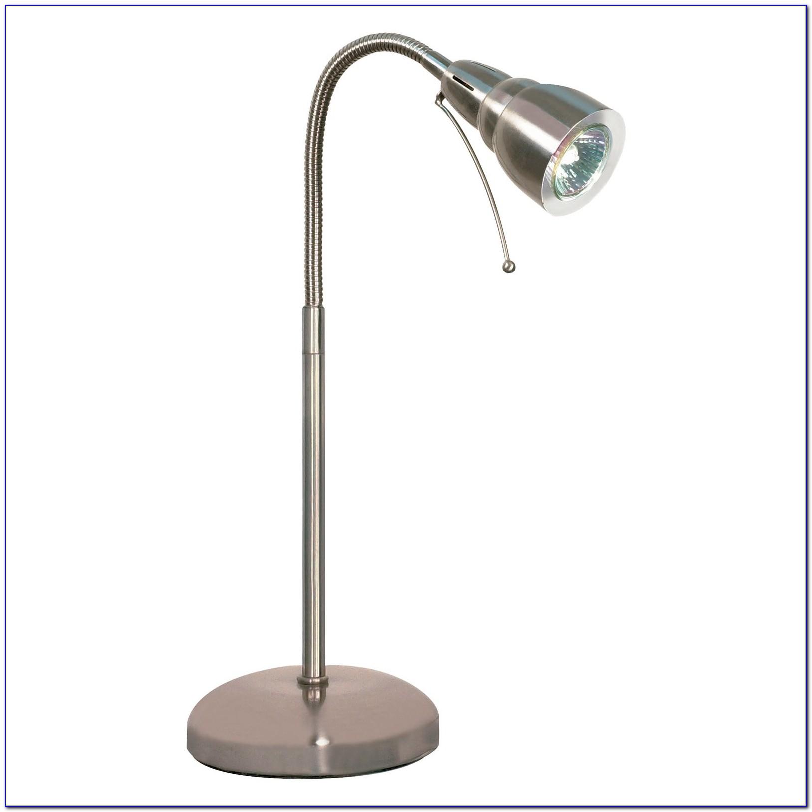 Gooseneck Halogen Desk Lamp