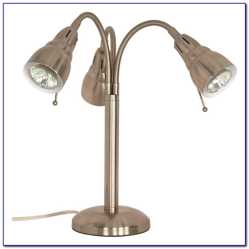 Halogen Flexible Gooseneck Desk Lamp