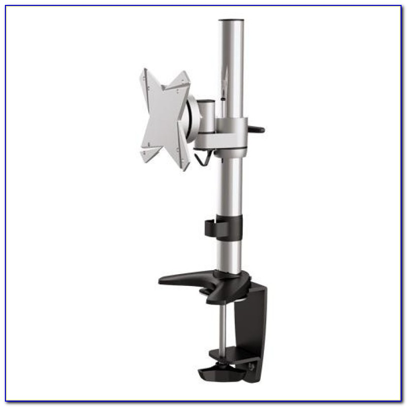 Halter Dual Lcd Monitor Stand Desk Clamp