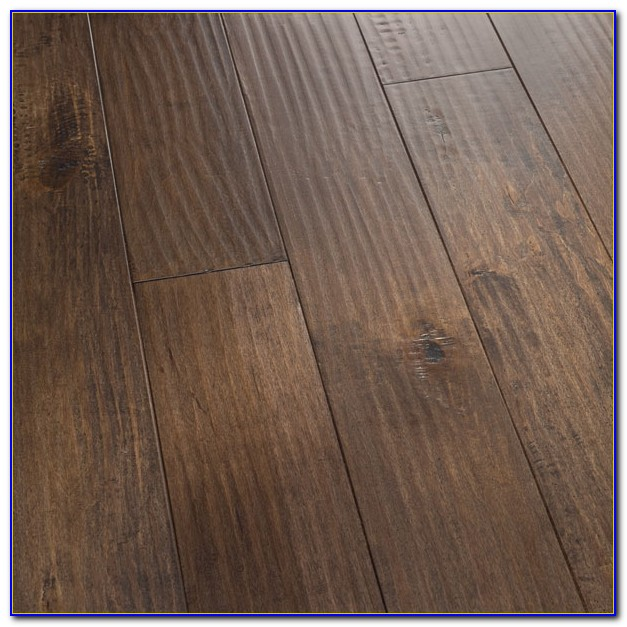 Hand Scraped Hardwood Flooring Cleaning