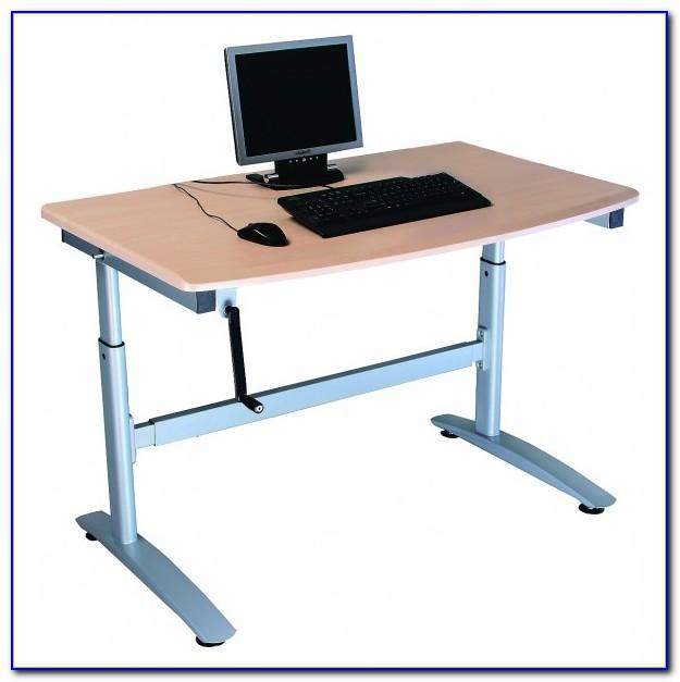 Health Postures Taskmate Ez Adjustable Height Desktop Workstation