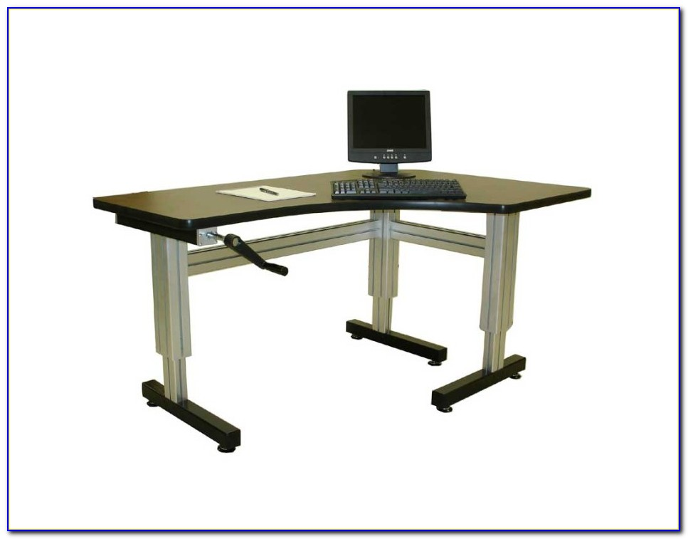 Height Adjustable Computer Desk Ireland