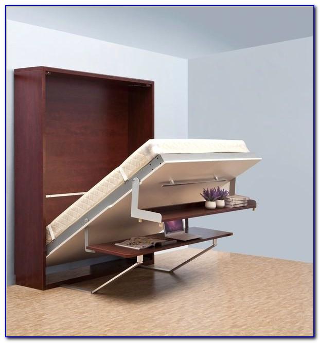 Hidden Bed Desk Diy