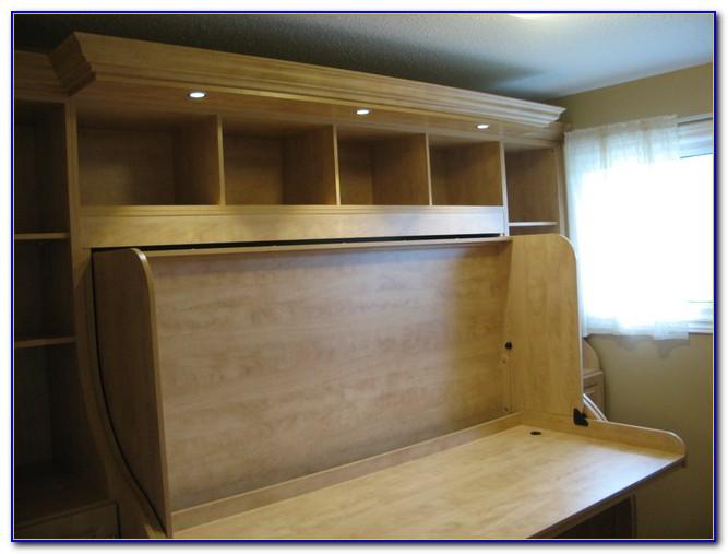 Hidden Bed Desk Queen