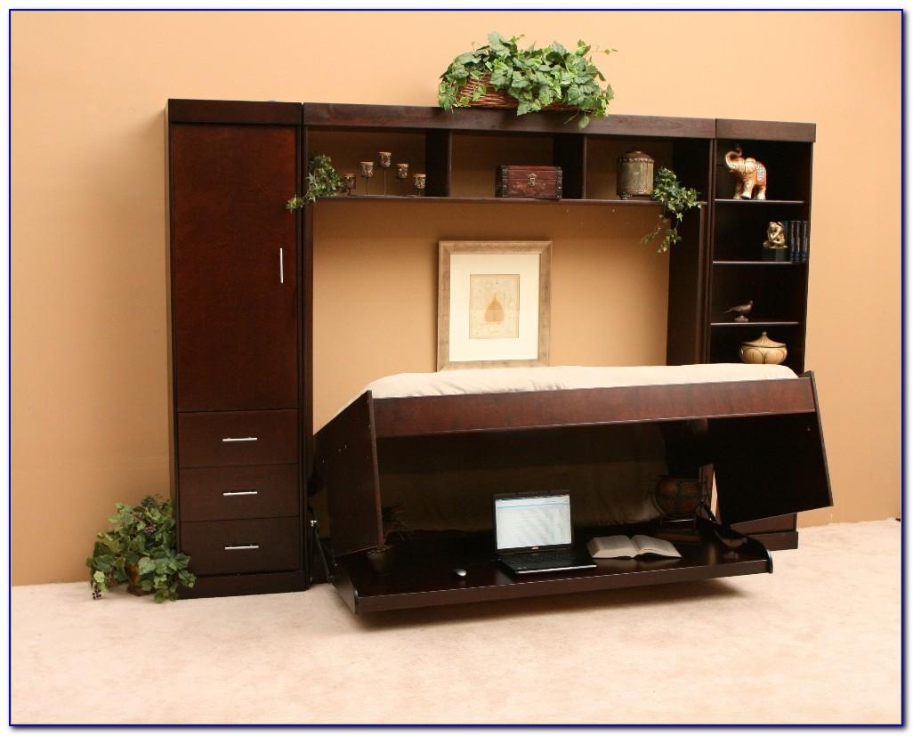 Hidden Bed With Desk