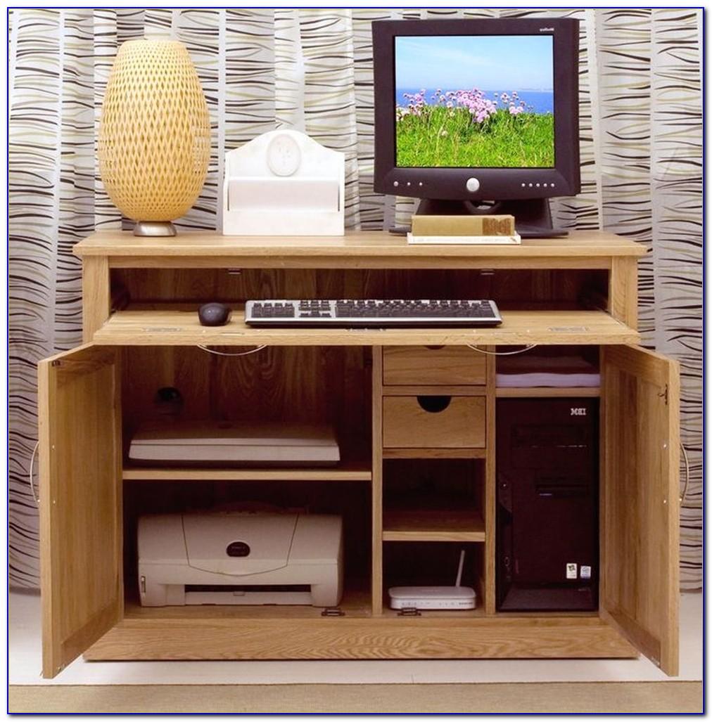 Hideaway Corner Computer Desks For Home
