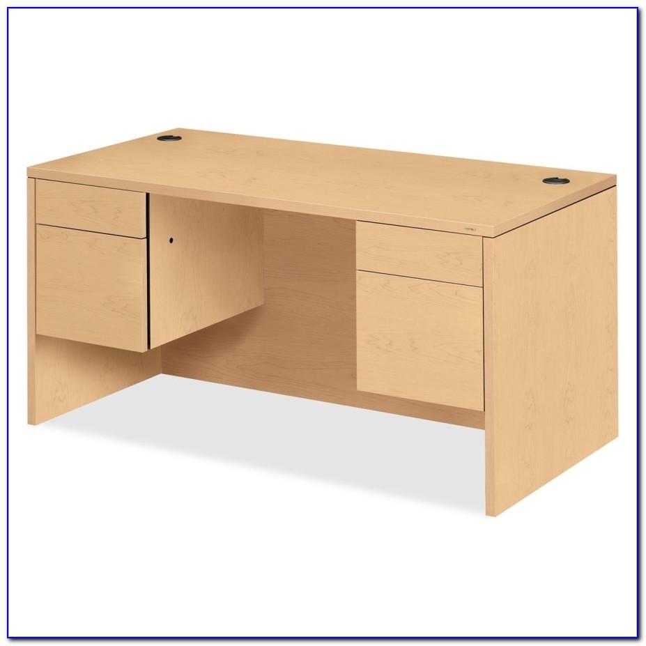 Hon 10500 Series Single Pedestal Desk