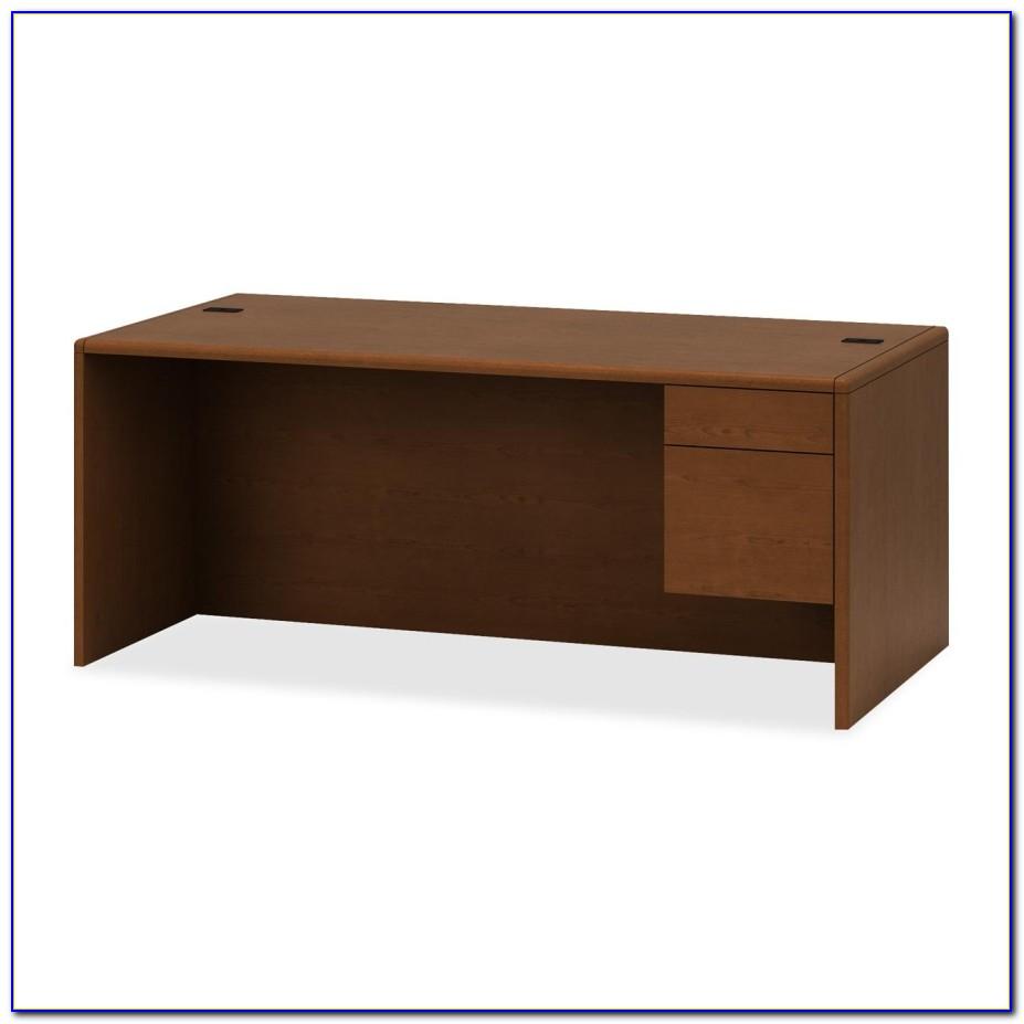 Hon 10700 Series Single Pedestal Desk