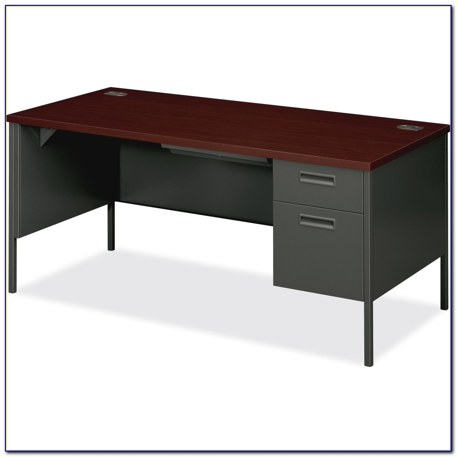 Hon Single Pedestal Desk