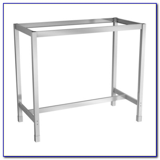 Ikea Stainless Steel Desk