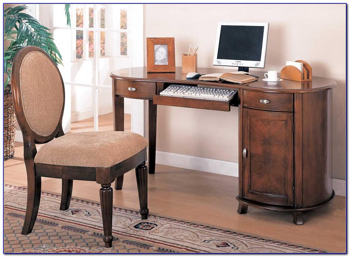 Kidney Bean Shaped Office Desk