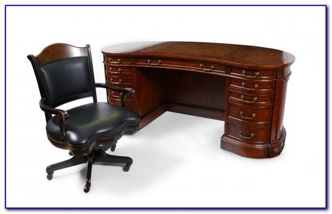 Kidney Shaped Executive Desk