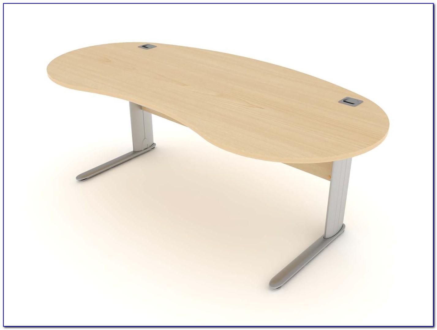 Kidney Shaped Office Desk
