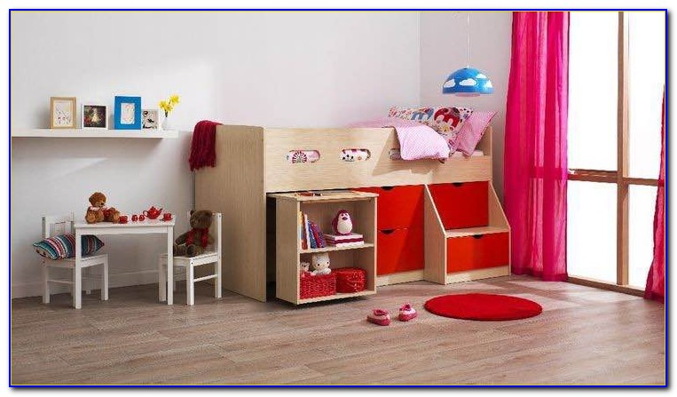 King Single Loft Bed With Desk Australia