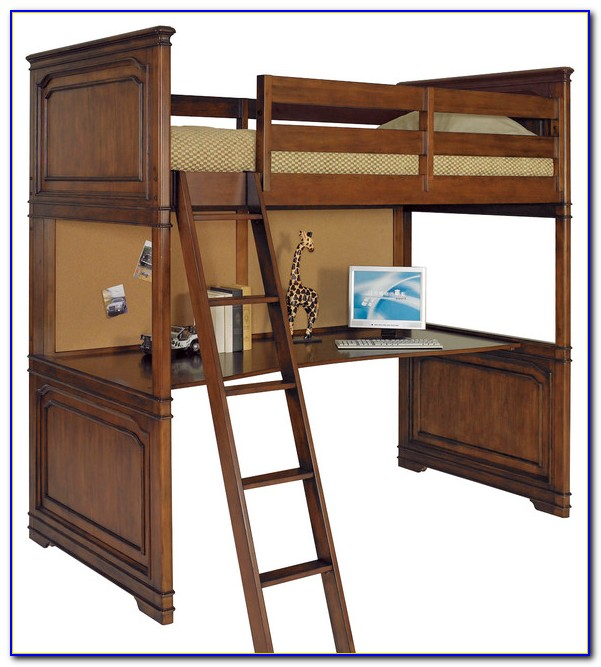 Lea Industries Getaway Loft Bed With Desk Dresser And Hutch
