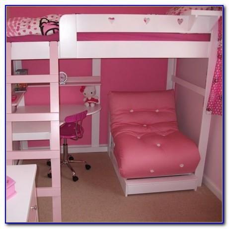 Loft Bed With Desk And Futon