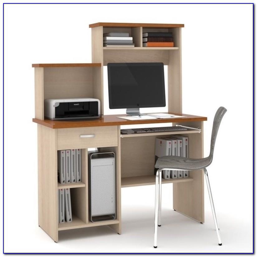 Luxor White Gloss Home Office Desk Workstation