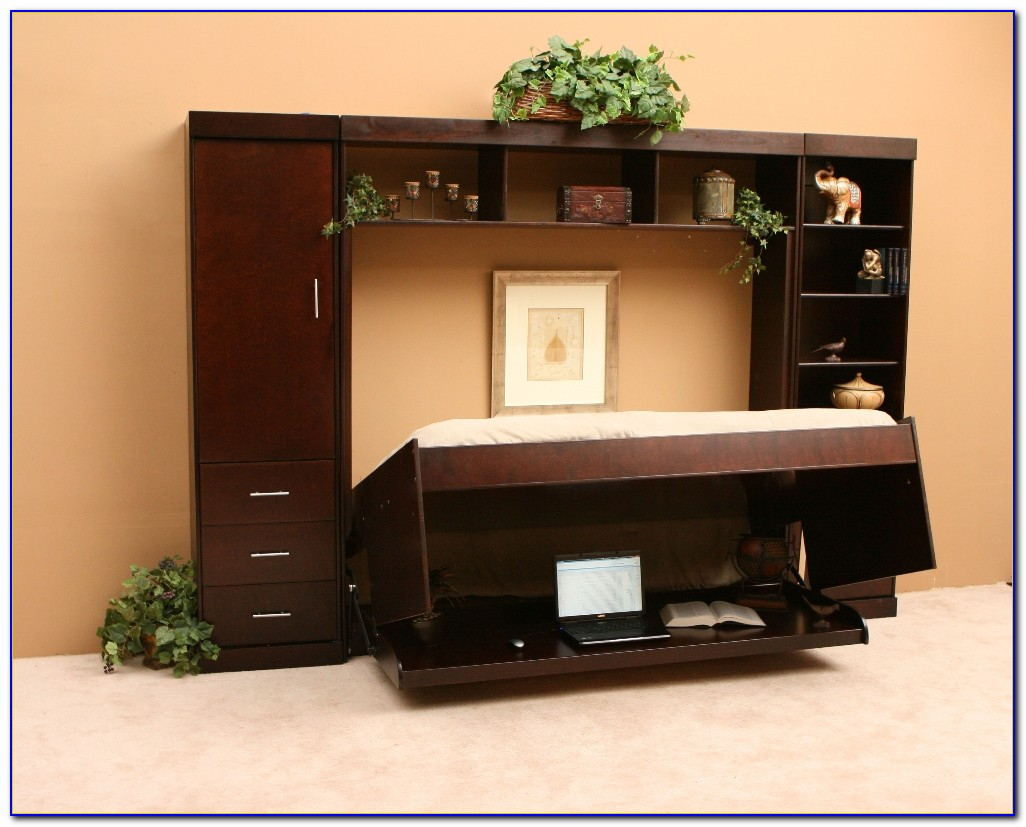 Murphy Bed With Hidden Desk