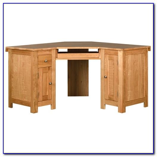 Oak Corner Computer Desk Uk