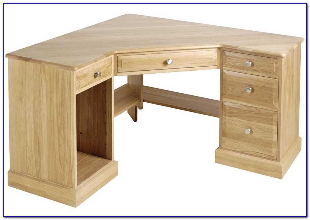 Oak Office Furniture Corner Desk