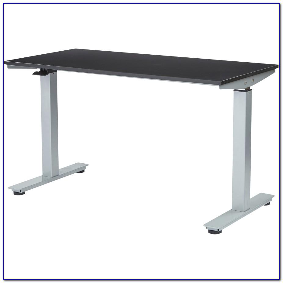 Pneumatic Height Adjustable Desk
